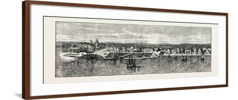New York in the Middle of the Eighteenth Century, USA, 1870s--Framed Art Print