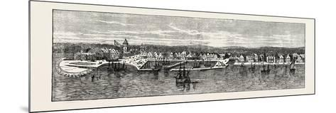 New York in the Middle of the Eighteenth Century, USA, 1870s--Mounted Giclee Print