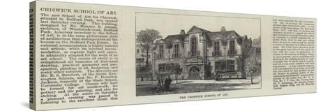 The Chiswick School of Art--Stretched Canvas Print