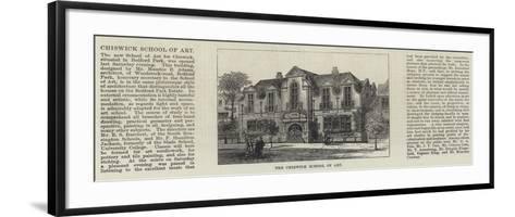 The Chiswick School of Art--Framed Art Print