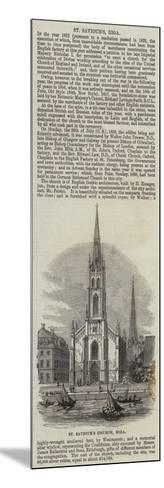 St Saviour's Church, Riga--Mounted Giclee Print