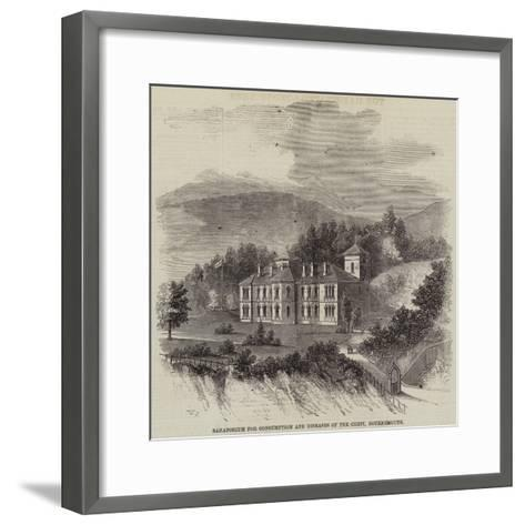 Sanatorium for Consumption and Diseases of the Chest, Bournemouth--Framed Art Print