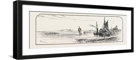 Alloa Pier, UK--Framed Art Print