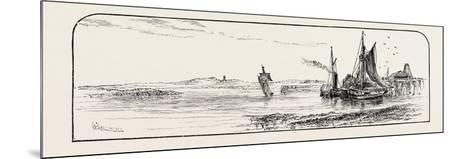 Alloa Pier, UK--Mounted Giclee Print