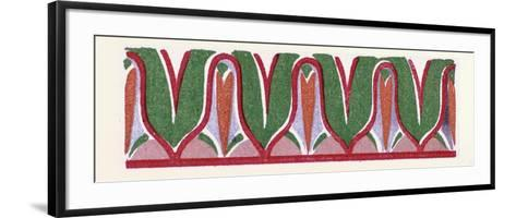 Greek Ornament--Framed Art Print