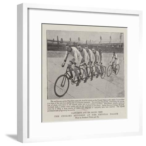 The Cycling Accident at the Crystal Palace Giclee Print by | the NEW ...