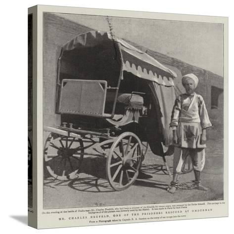 Mr Charles Neufeld, One of the Prisoners Rescued at Omdurman--Stretched Canvas Print