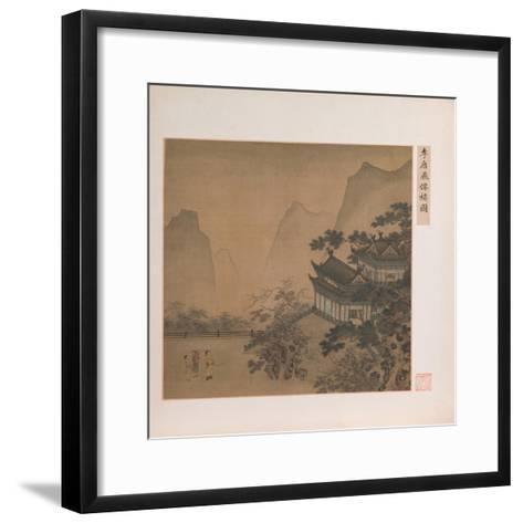 Pavilion of the Flying Immortal--Framed Art Print