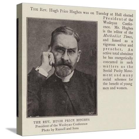 The Reverend Hugh Price Hughes--Stretched Canvas Print