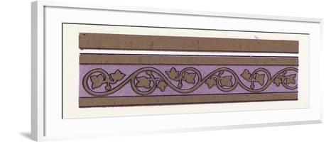 Medieval Ornament--Framed Art Print
