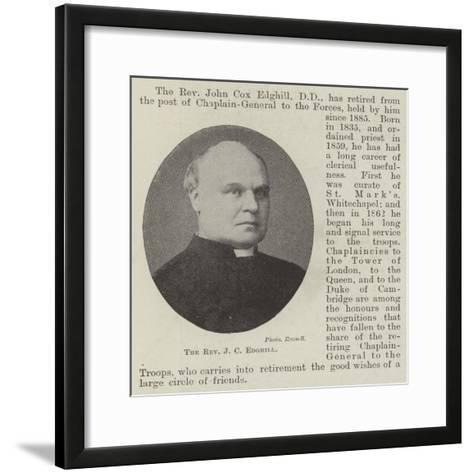 The Reverend J C Edghill--Framed Art Print