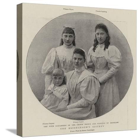 The Bridegroom's Sisters--Stretched Canvas Print