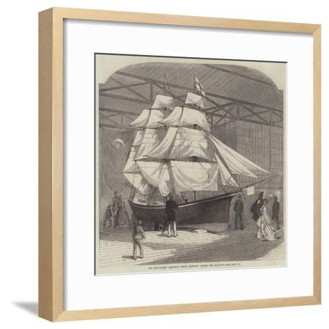 The Ship-Rigged Life-Boat Which Recently Crossed the Atlantic--Framed Art Print