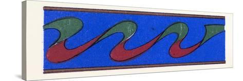 Persian Ornament--Stretched Canvas Print