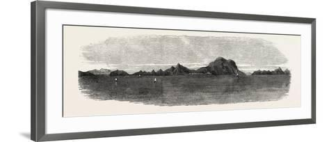 The Inland Sea of Japan: View in the Harima Nada. 1868--Framed Art Print