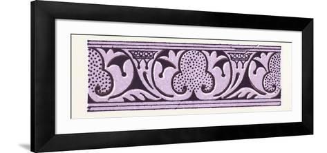 Arabian Ornament--Framed Art Print