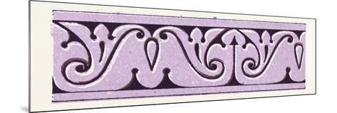 Arabian Ornament--Mounted Giclee Print