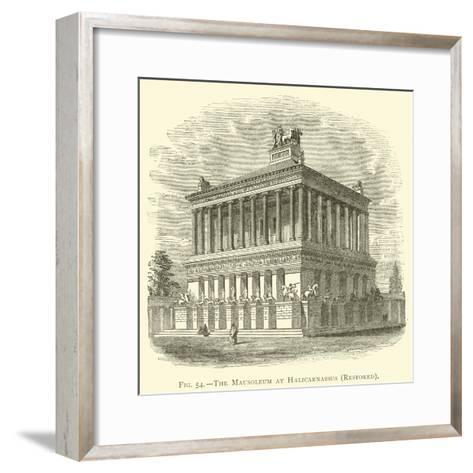 The Mausoleum at Halicarnassus, Restored--Framed Art Print
