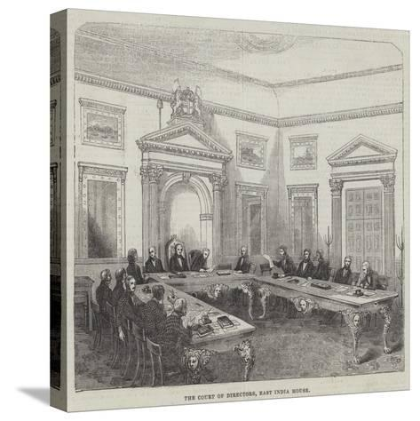 The Court of Directors, East India House--Stretched Canvas Print