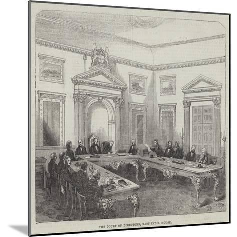 The Court of Directors, East India House--Mounted Giclee Print