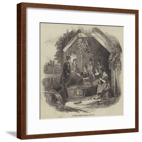 The Strawberry Trade, Pottling--Framed Art Print