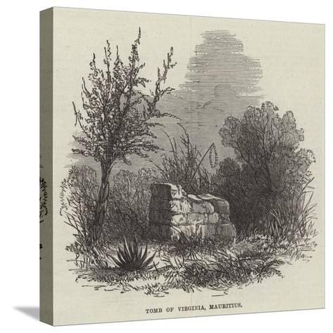 Tomb of Virginia, Mauritius--Stretched Canvas Print