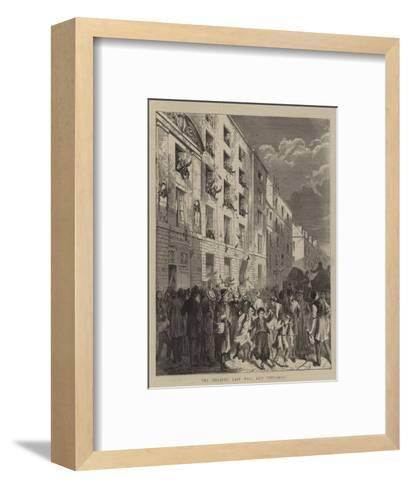 The Zouaves' Last Will and Testament--Framed Art Print