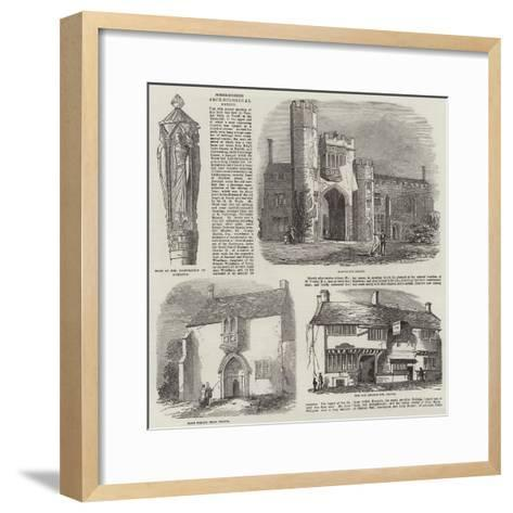Somersetshire Archaeological Society--Framed Art Print