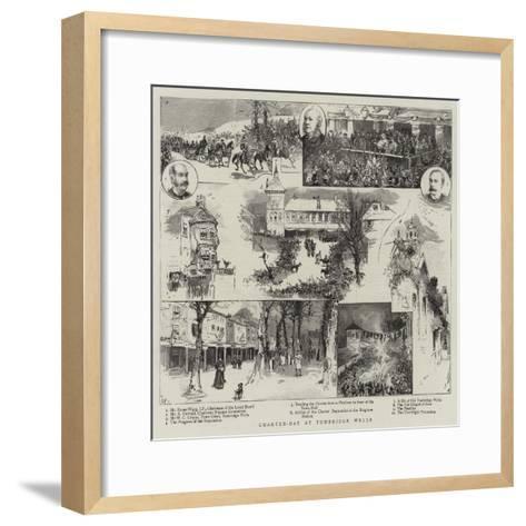 Charter-Day at Tunbridge Wells--Framed Art Print