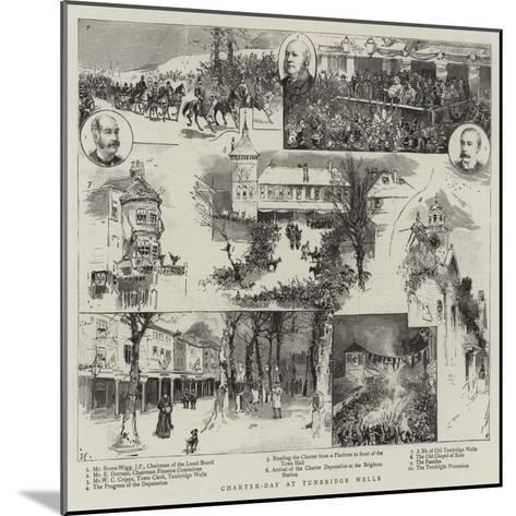 Charter-Day at Tunbridge Wells--Mounted Giclee Print