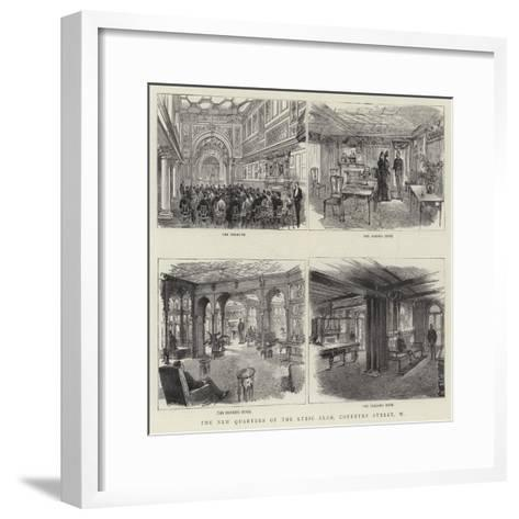 The New Quarters of the Lyric Club, Coventry Street, W--Framed Art Print