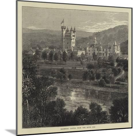 Balmoral Castle, from the River Dee--Mounted Giclee Print