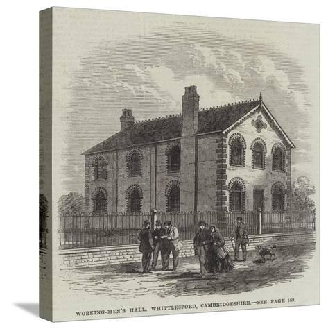 Working-Men's Hall, Whittlesford, Cambridgeshire--Stretched Canvas Print