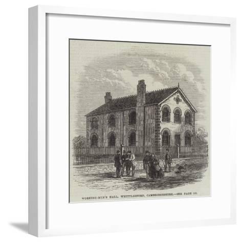 Working-Men's Hall, Whittlesford, Cambridgeshire--Framed Art Print