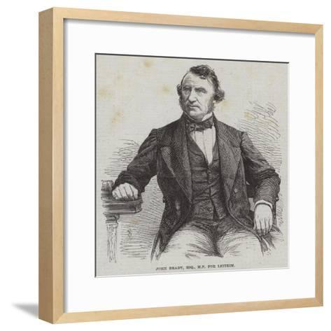 John Brady, Esquire, Mp for Leitrim--Framed Art Print