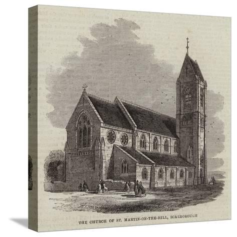 The Church of St Martin-On-The-Hill, Scarborough--Stretched Canvas Print