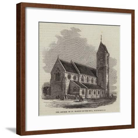The Church of St Martin-On-The-Hill, Scarborough--Framed Art Print