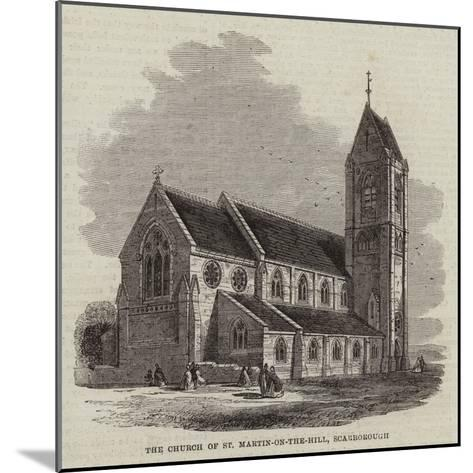 The Church of St Martin-On-The-Hill, Scarborough--Mounted Giclee Print