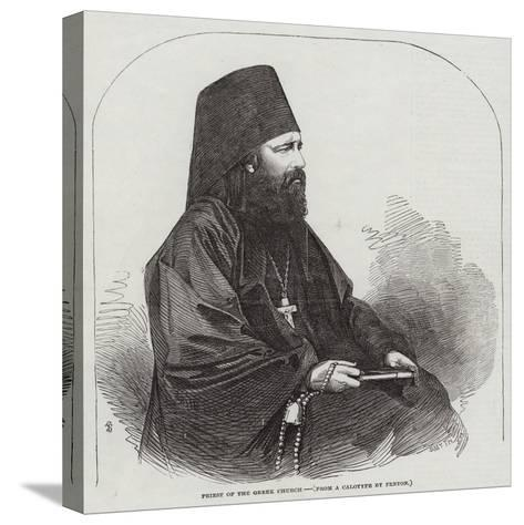 Priest of the Greek Church--Stretched Canvas Print