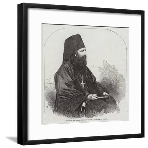 Priest of the Greek Church--Framed Art Print