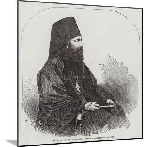 Priest of the Greek Church--Mounted Giclee Print