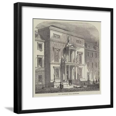 New Physicians' Hall, Edinburgh--Framed Art Print