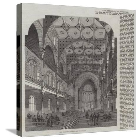 The Garrison Chapel at Woolwich--Stretched Canvas Print
