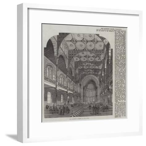 The Garrison Chapel at Woolwich--Framed Art Print