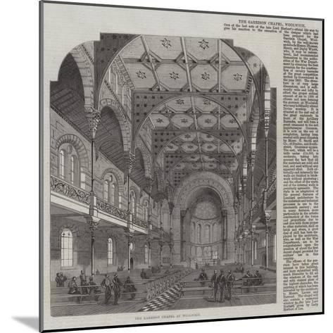 The Garrison Chapel at Woolwich--Mounted Giclee Print