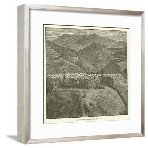 Gold Mining Region of Sofala--Framed Art Print