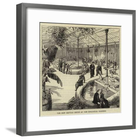 The New Reptile House at the Zoological Gardens--Framed Art Print