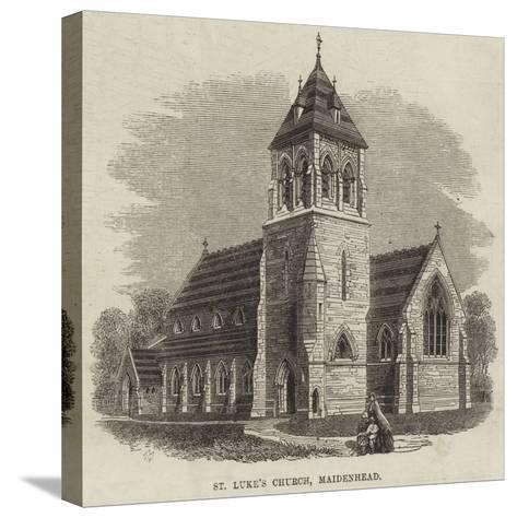 St Luke's Church, Maidenhead--Stretched Canvas Print