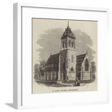 St Luke's Church, Maidenhead--Framed Art Print
