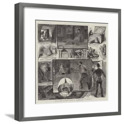 Rats on Board Ship, a Midnight Fantasy--Framed Art Print
